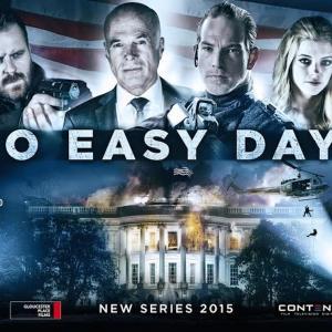 Al Sapienza, Sean Brosnan, Michael Hogan, Peter Outerbridge, Simon Phillips and Eva Link in No Easy Days (2015)