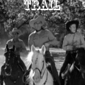 Jimmie Dodd Bob Steele and Tom Tyler in The Blocked Trail 1943