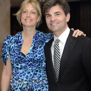 Alexandra Wentworth, George Stephanopoulos