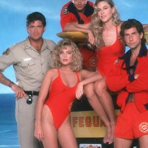 Erika Eleniak, David Hasselhoff, Parker Stevenson, Billy Warlock, Shawn Weatherly