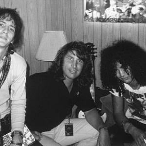 Slash, Izzy Stradlin, Peter Napoliello