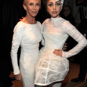 Trudie Styler and Lady Gaga