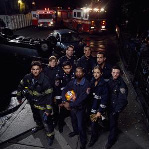 Still of Michael Beach Eddie Cibrian Kim Raver Jason Wiles Coby Bell Bobby Cannavale Molly Price Anthony Ruivivar and Skipp Sudduth in Third Watch 1999