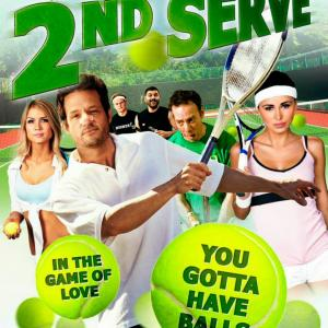 Josh Hopkins, Dash Mihok, Guillermo Díaz, Kevin Sussman and Billy Magnussen in 2nd Serve (2012)