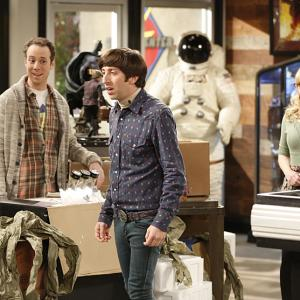 Simon Helberg, Kevin Sussman, Melissa Rauch