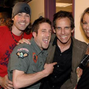 Ben Stiller Christine Taylor Elliott Yamin and Ace Young at event of American Idol The Search for a Superstar 2002