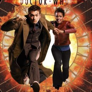 David Tennant and Freema Agyeman in Doctor Who 2005