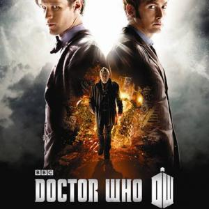 Still of John Hurt David Tennant and Matt Smith in Doctor Who The Day of the Doctor 2013