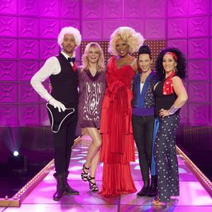 RuPaul, Cheryl Tiegs, Michelle Visage, Johnny Weir, Santino Rice