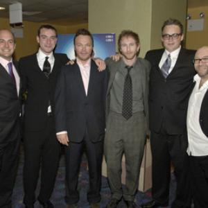 Michael Dowse, Paul Kaye, Allan Niblo, James Richardson, Pete Tong, Richard Matson