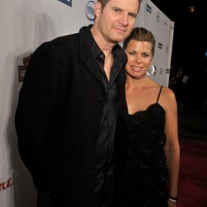 Jack Coleman and Beth Toussaint at event of Herojai 2006