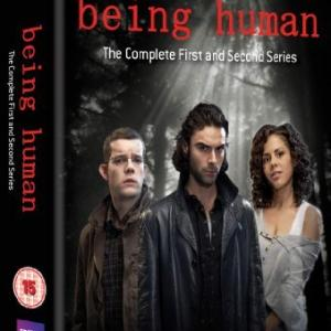 Russell Tovey Lenora Crichlow and Aidan Turner in Being Human 2008