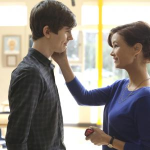 Freddie Highmore, Keegan Connor Tracy