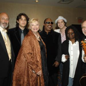 Whoopi Goldberg, Stevie Wonder, N. Paul Stookey, Mary Allin Travers, Peter Yarrow, John Mayer, Gavin DeGraw