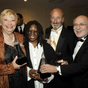 Whoopi Goldberg, N. Paul Stookey, Mary Allin Travers, Peter Yarrow