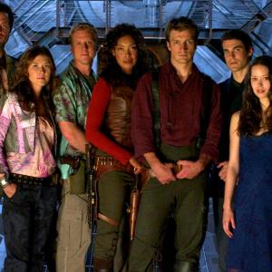 Adam Baldwin, Nathan Fillion, Sean Maher, Jewel Staite, Gina Torres, Alan Tudyk, Summer Glau