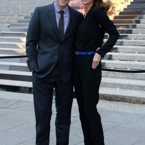 Edward Burns and Christy Turlington