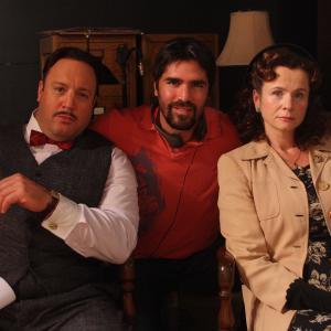 KEVIN JAMES, EDUARDO VERASTEGUI AND EMILY WATSON.