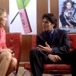 Still of Joy Enriquez and Eduardo Verástegui in Chasing Papi (2003)