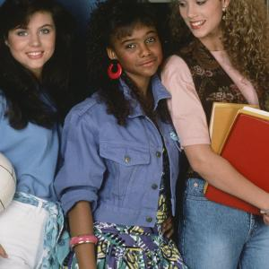 Elizabeth Berkley, Tiffani Thiessen, Lark Voorhies