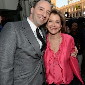 Tony Hale and Jessica Walter at event of Arrested Development (2003)