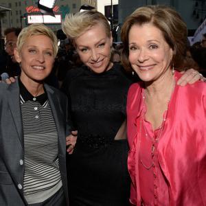 Ellen DeGeneres, Portia de Rossi and Jessica Walter at event of Arrested Development (2003)
