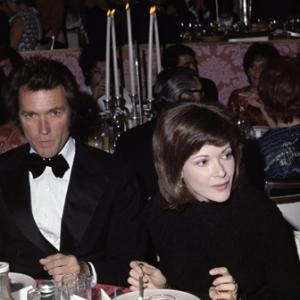 Clint Eastwood and Jessica Walter circa 1970s