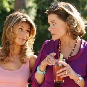 Still of Lori Loughlin and Jessica Walter in 90210 (2008)