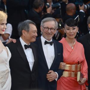 Nicole Kidman Steven Spielberg Ang Lee Naomi Kawase and Christoph Waltz at event of Zulu 2013
