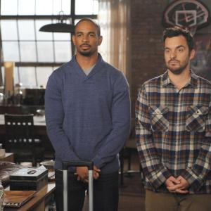 Damon Wayans Jr., Jake Johnson