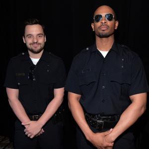 Damon Wayans Jr. and Jake Johnson