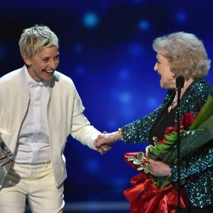 Ellen DeGeneres, Betty White