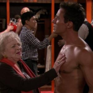 Dan Cortese, Betty White