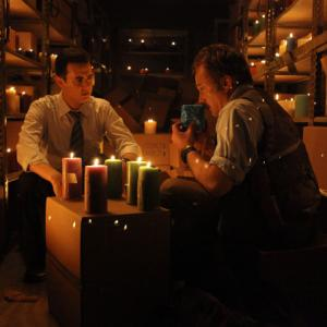Still of Jack Colin and Bradley Whitford in The Good Guys 2010