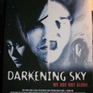 Darkening Sky Poster