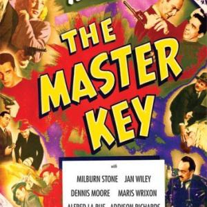 Dennis Moore and Jan Wiley in The Master Key 1945