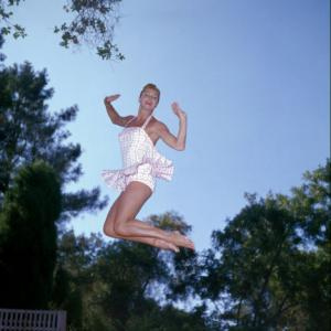 Esther Williams at home