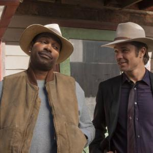 Timothy Olyphant, Mykelti Williamson