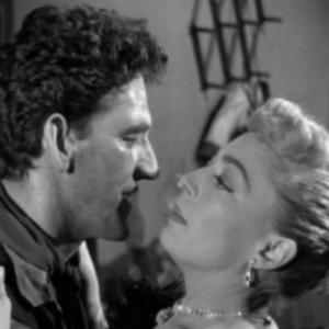 Earle Lyon and Marie Windsor in TwoGun Lady 1955