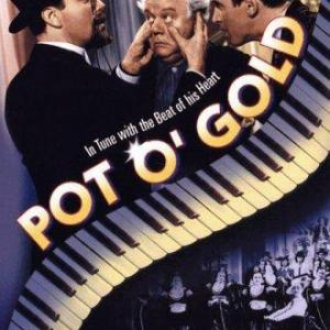 James Stewart and Charles Winninger in Pot o Gold 1941