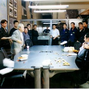 Still of Eric Tsang and Anthony ChauSang Wong in Mou gaan dou 2002