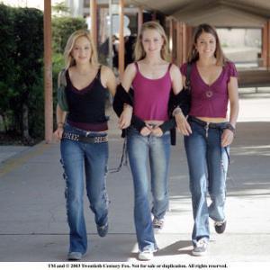 Left to Right Jenicka Carey Evan Rachel Wood and Nikki Reed