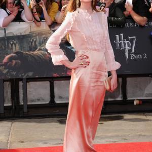 Bonnie Wright at event of Haris Poteris ir mirties relikvijos. 2 dalis (2011)