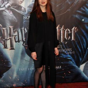 Bonnie Wright at event of Haris Poteris ir mirties relikvijos. 1 dalis (2010)