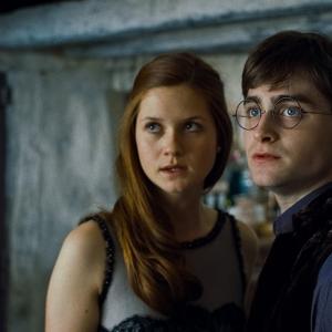 Still of Daniel Radcliffe and Bonnie Wright in Haris Poteris ir mirties relikvijos. 1 dalis (2010)