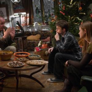 Still of Daniel Radcliffe, Bonnie Wright and David Yates in Haris Poteris ir netikras princas (2009)