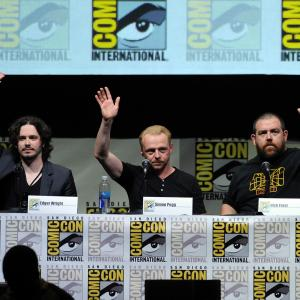 Nick Frost, Simon Pegg, Edgar Wright