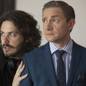 Martin Freeman, Edgar Wright