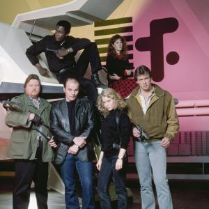 Michael Ironside, Marc Singer, Faye Grant, Blair Tefkin, Mickey Jones, Michael Wright