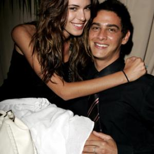 Trevor Wright and Odette Annable